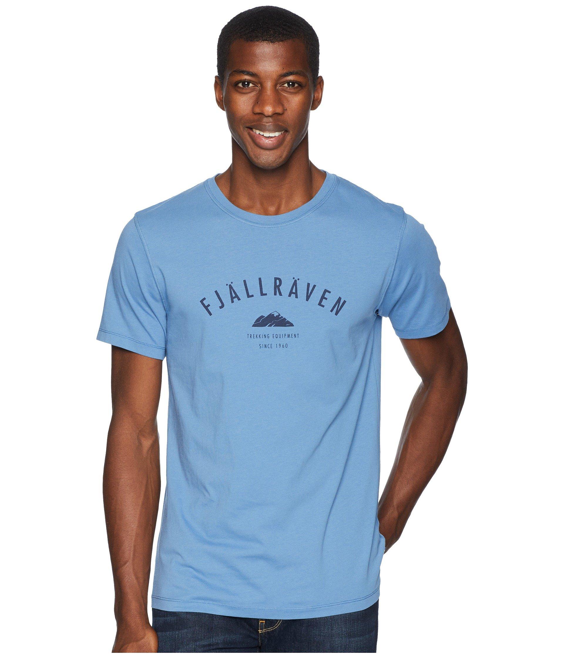 Fjällräven Equipment T Trekking Ridge Blue shirt vwASF0qUw