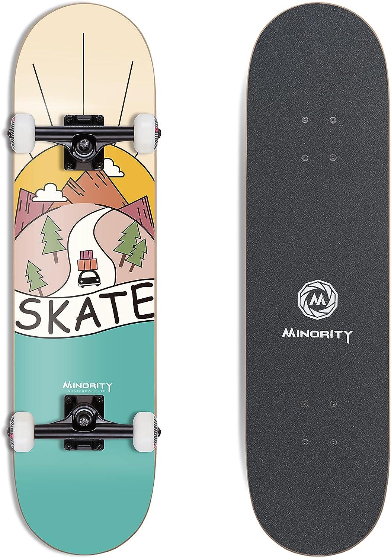 """Minority 32"""" Maple Skateboard Sunset"""