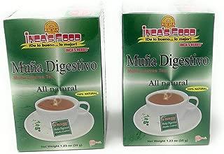 Inca's Herbs Muña Digestivo All Natural 2 Pack 1.23oz