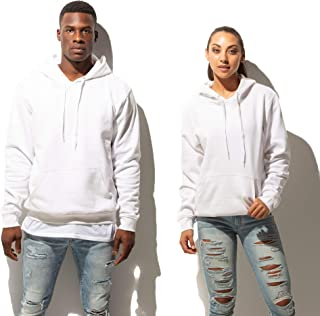 competitive price 10d26 b9638 Just Like Hero Men s Fleece Hoodie (Small, White)
