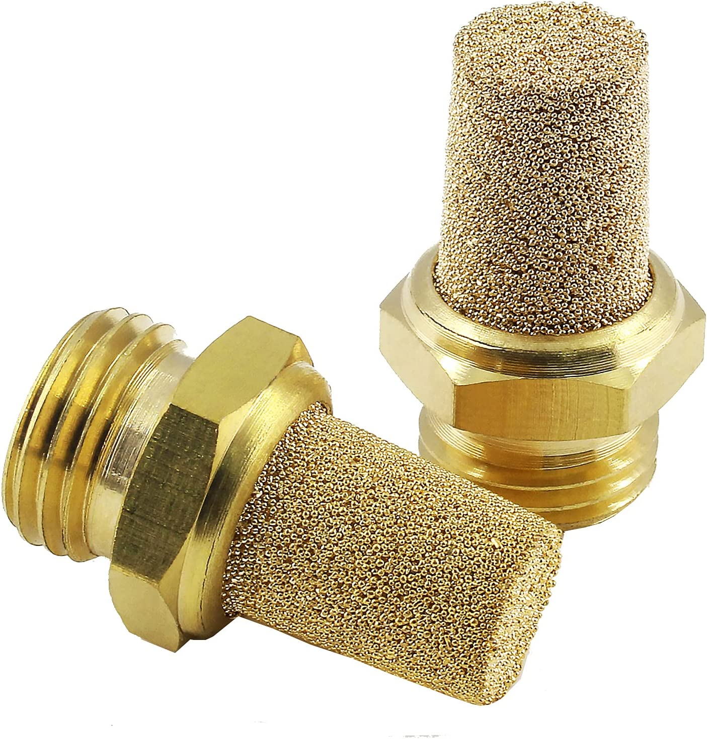 Cheap Piutouyar 3Pcs Air Pneumatic Mufflers 1 Male Sinte 4