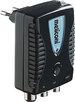 Meliconi 880100 AMP-20 - Amplificador de antena, hasta 20 dB