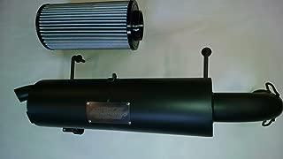 GSE Performance Polaris Rzr 1000 Slip On Muffler & High Flow Air Filter