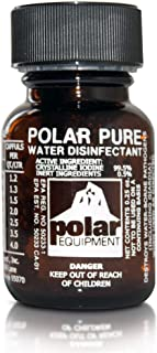 Polar Pure Iodine Water Filter Purifier Sterilizes 2,000 Quarts