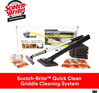 3M Scotch-Brit Quick Clean Griddle Cleaning System Starter Kit, 1/case