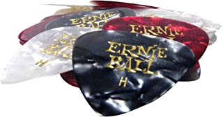 Ernie Ball Heavy Pearloid Assorted Picks, Bag of 24