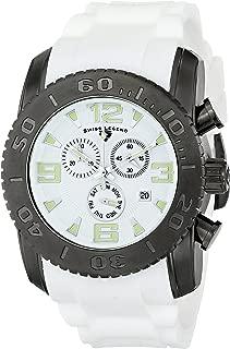Swiss Legend Men's 10067-GM-02 Commander Analog Display Swiss Quartz White Watch