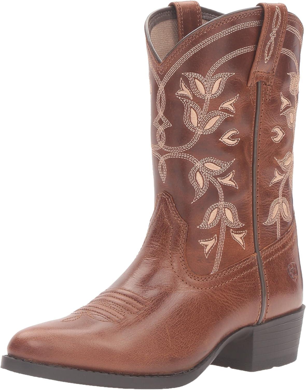 Ariat Kids' Desert Holly Western Cowboy Boot, Coyote Brown, 5 M US Big Kid
