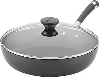 Circulon 89312 Acclaim Deep Nonstick Frying Pan / Fry Pan / Skillet with Lid - 12 Inch, Black