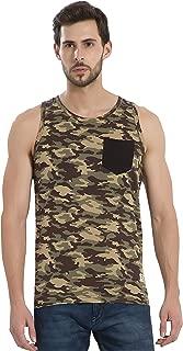Alan Jones Men's Printed Cotton Vest