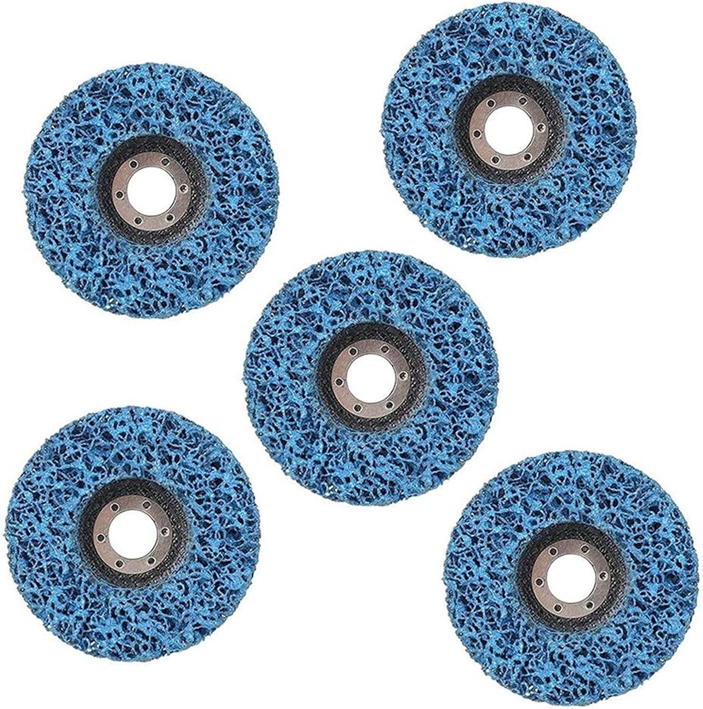 WYDMBH Cutting wheele 5Pcs 125mm Strip Diameter G Wheel Cleaning Max 42% Bargain OFF