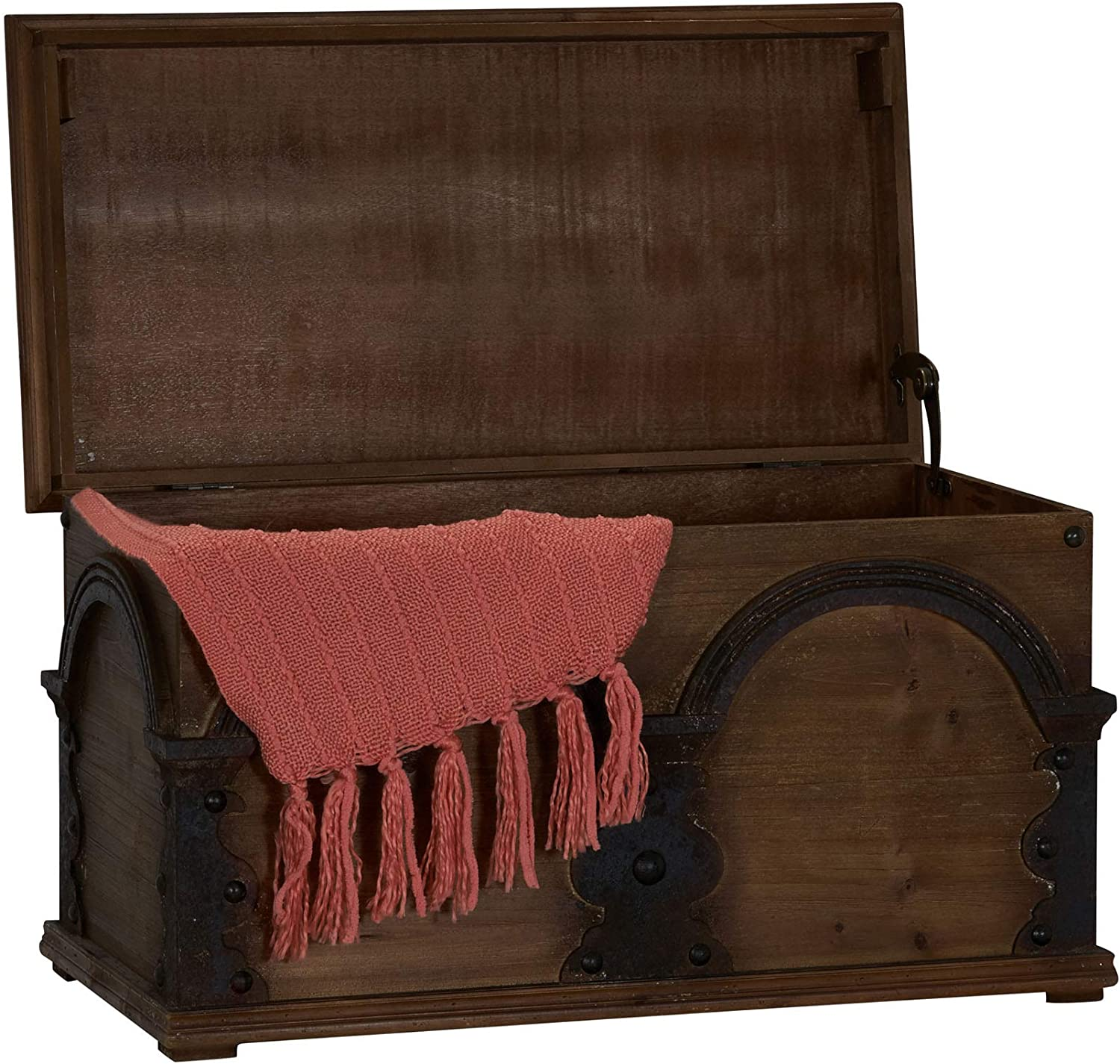 Household Selling and selling Essentials Wooden Arch Trunk Chest Storage Large Super-cheap Bro
