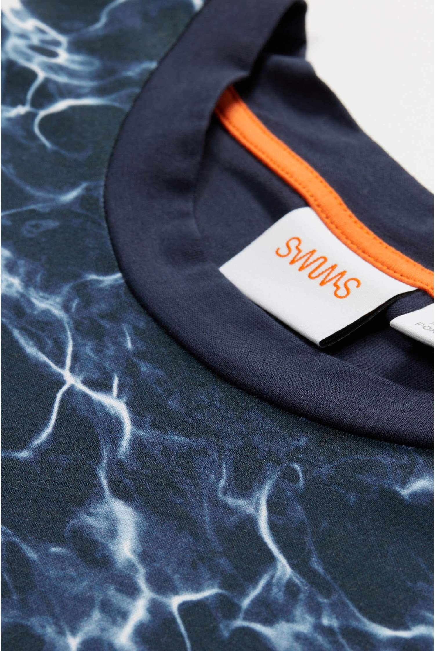 SWIMS Breeze Oahu Pool Print T-Shirt 7Kp1Q