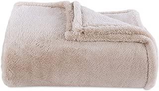 Berkshire Blanket Original Extra-Fluffy Bed Blanket, King, Oyster