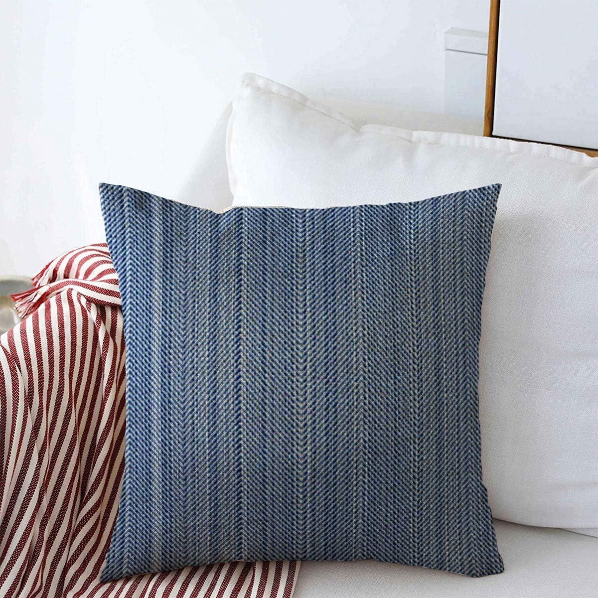 Case 18/'/' Linen Home Decor Cotton Cushion Pillow Cover Abstract Vintage