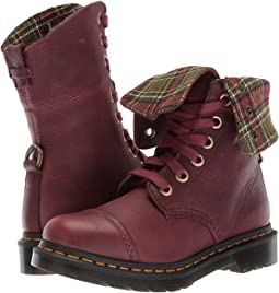 Cherry Red Grizzly/DMS Tartan Khaki Wool