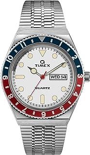 Timex Q 1979 Reissue 38mm Blue Red White