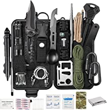 YTY Survival Gear Kit, Emergency EDC Survival Tools 69 in 1 SOS Earthquake Aid Equipment Fishing Hunting, Cool Top Gadgets...