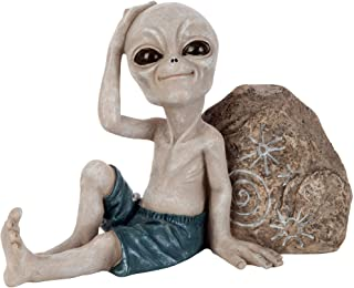 Design Toscano the Out-of-this-World Alien Extra Terrestrial Statue - Giant
