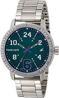 Fastrack Varsity Analog Silver Dial Men's Watch - 3178SM01