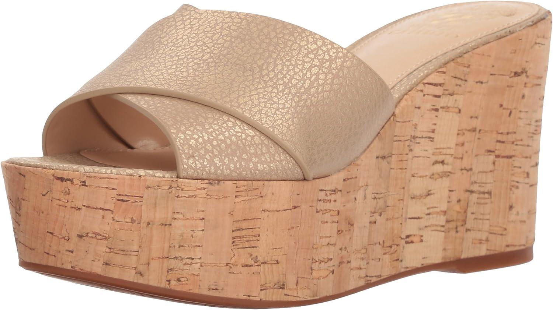 Vince Camuto Womens Kessina Wedge Sandal