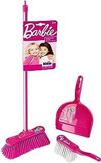 Theo Klein 6351 Barbie Classic zestaw zamiatający z 3 elementami, zabawką, wielokolorowy, 4-6 lat