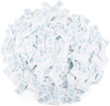 300 Packs, 0.5g Silica Gel Packets Desiccant Dehumidifier, Non Toxic Food Safe Moisture Absorber Drying Bags for Gun Storage, Document Storage, Unscented
