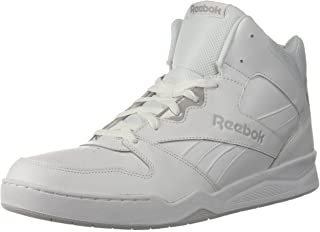 Reebok Men's BB4500 Hi 2 Sneaker, White/Light Solid Grey, 9