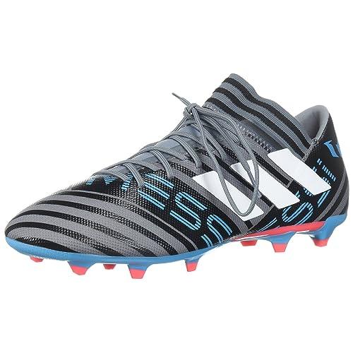 2df537f96d54c adidas Men's Nemeziz Messi 17.3 FG Soccer Shoe, Core Black/Solar Red/Tactile