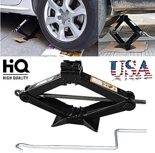 high quality Bowoshen 2 Ton Tonne Original wholesale Scissor new arrival Wind Up Jack & Crank Speed Handle for Car Auto Van online