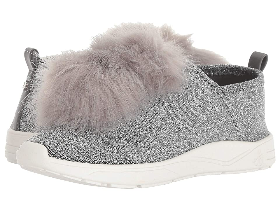 Sam Edelman Kids Ariana Pom (Little Kid/Big Kid) (Gray Shimmer) Girls Shoes