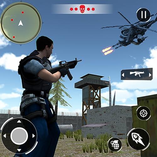 Swat FPS Force: Free Top Fire Gun Shooting