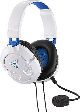 Headset Gaming Turtle Beach Branco Ear Force Recon 50P, Compatível com PS4 e Xbox