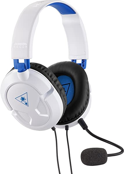 Turtle Beach Ear Force Recon 50P White Stereo Gaming Headset PS4 And Xbox One Compatible W Xbox One Controller W 3 5mm Headset Jack