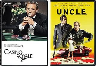 The Man From U.N.C.L.E. DVD & Casino Royale 007 James Bond Spy Bundle Move Set
