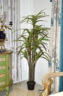 شجرة التنين الاصطناعي YATAI حوالي 1.8 متر من النباتات الاصطناعية عالية لتزيين المنزل والحديقة - نباتات مكتب - نباتات صناعي...