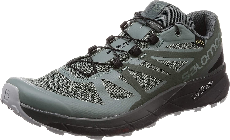 Salomon Men's Sense Ride GTX Invisible Fit Trail Running shoes