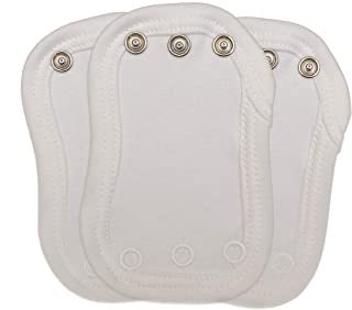 Sponsored Ad – Vest Extenders - x 3 - Made in UK by Nature Babies