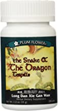 PLUM FLOWER CHINESE TEA The Snake & The Dragon Teapills, 200 CT
