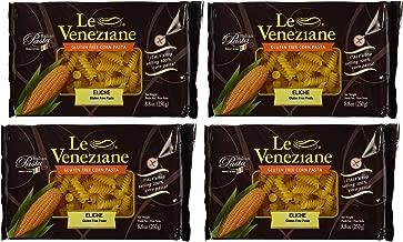 Le Veneziane - Italian Fusilli (Eliche) Pasta [Gluten-Free], (4)- 8.8 oz. Pkgs