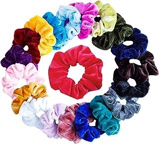 Hair Scrunchies Velvet Elastic Hair Bands Scrunchy Hair Ties