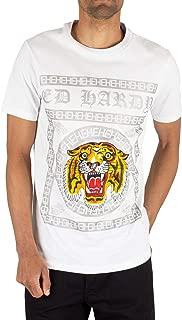 Men's Tiger Tile T-Shirt, White