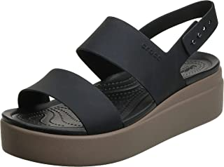 Crocs Brooklyn Low Wedge Womens Sandal