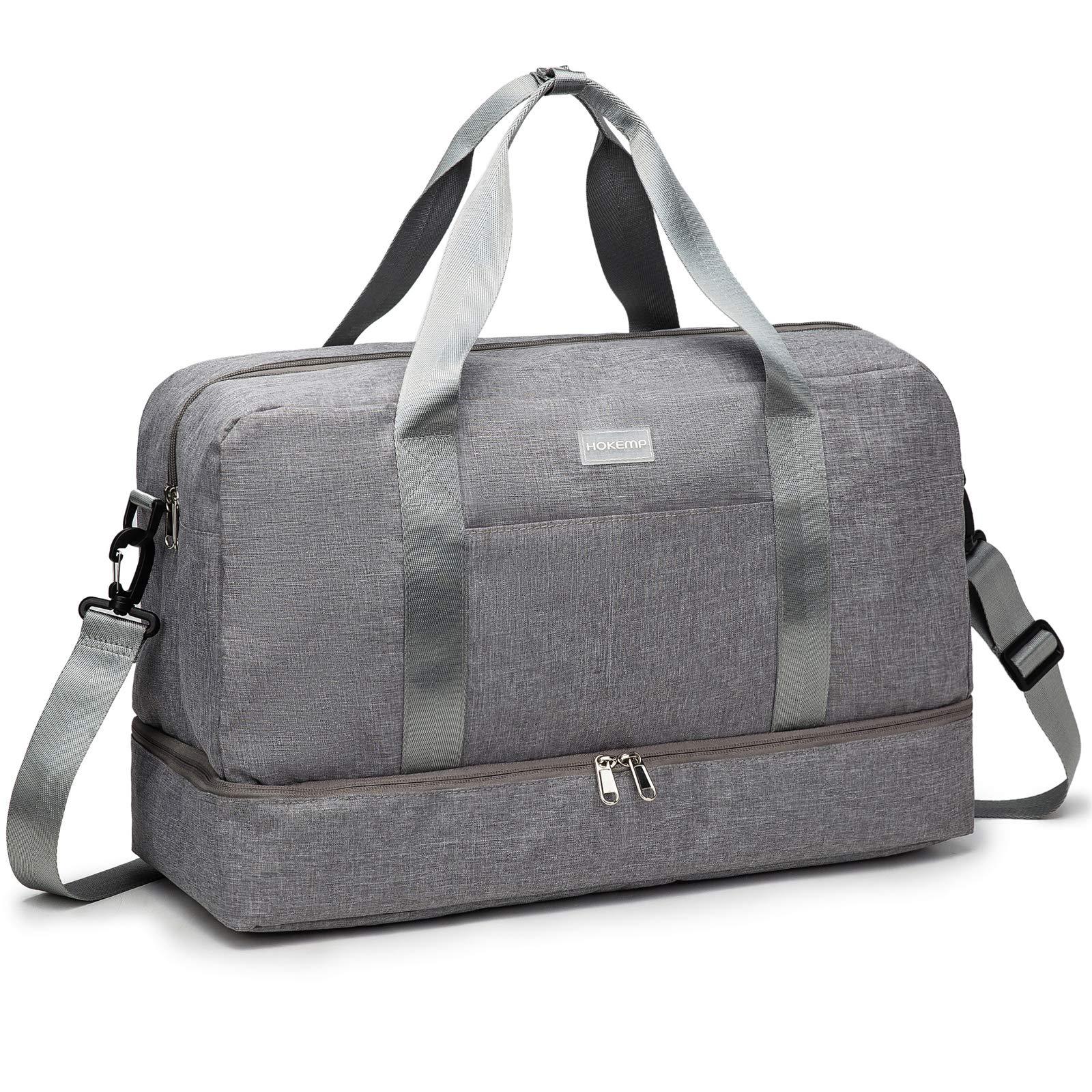 HOKEMP Sports Compartment Lightweight Luggage