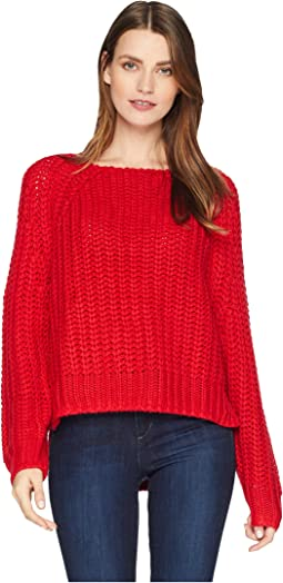 Page Chunky Crew Neck Top