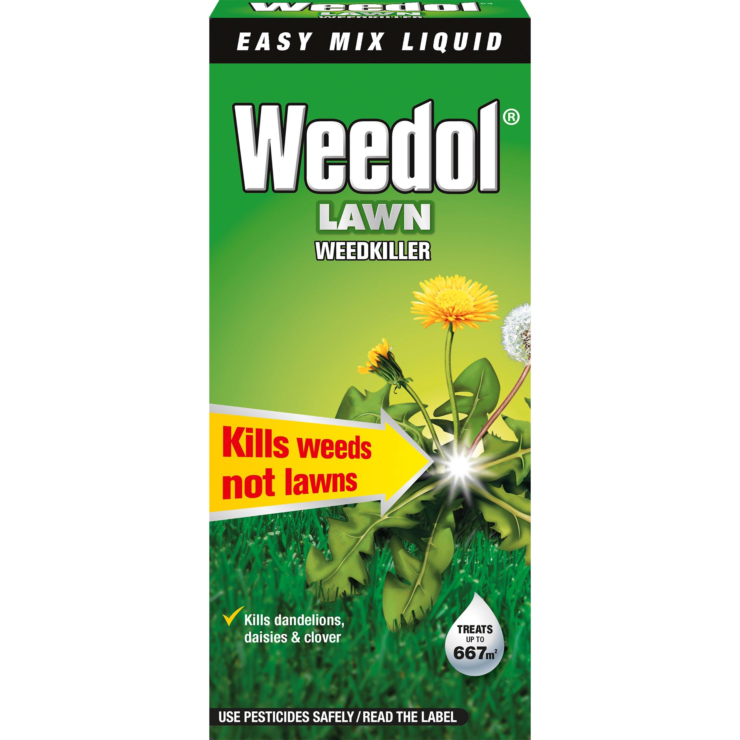 Herbicida líquido para césped Weedol, concentrado en botella: Amazon.es: Jardín
