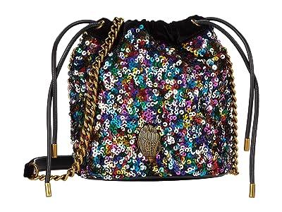 Kurt Geiger London Kensington Drawstring (Multi/Other) Handbags