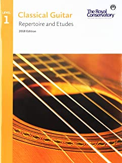 G5R01 - Classical Guitar Repertoire and Etudes - The Royal Conservatory 2018 - Level 1