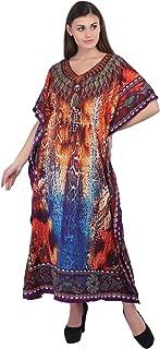 فستان طويل كيمونو قفطان طويل للنساء مقاس حر كاجوال