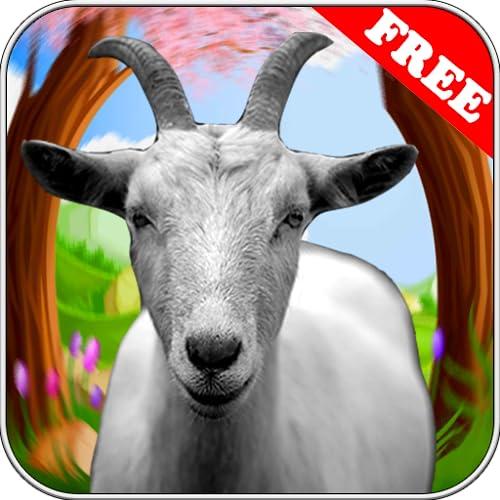 97% Crazy Goat Simulator 2018 3d